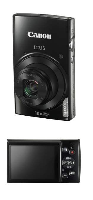 Canon New IXUS 190 and IXUS 185 Digital Compact Camera