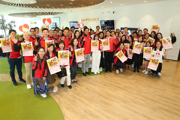 """Canon Hongkong continues its support to """"Dress Red for Thalassaemia"""" for the 4th Consecutive Year"""