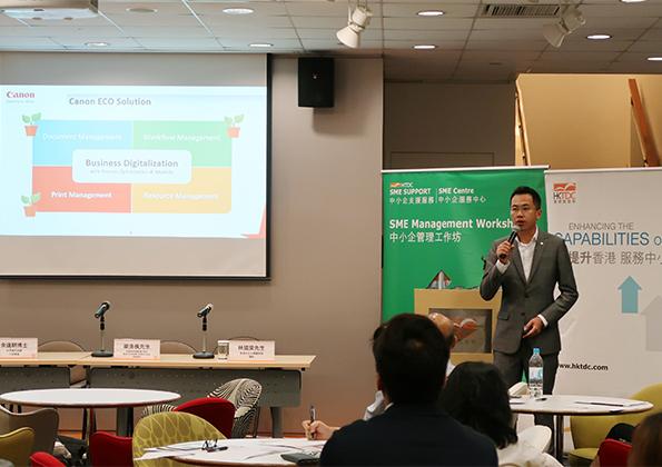 """SME Management Workshop on """"Practical Tips on Green Office"""""""
