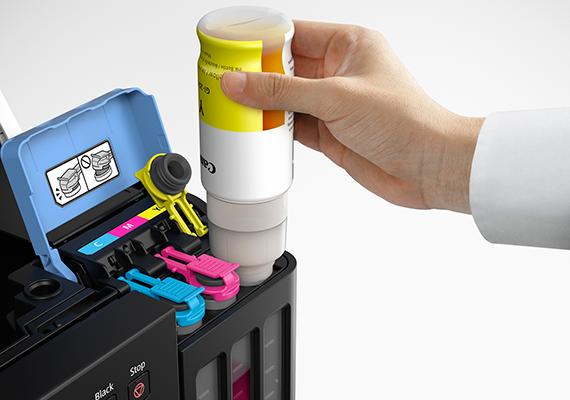 Spill-Resistant Ink Bottle Design