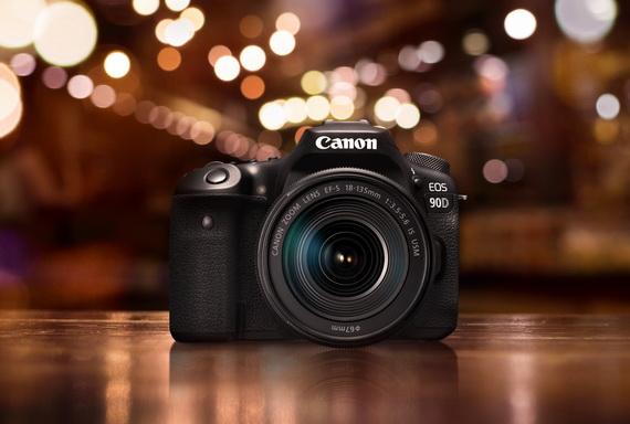 佳能全新EOS 90D高像素高速4K數碼單反相機 - 正式發售