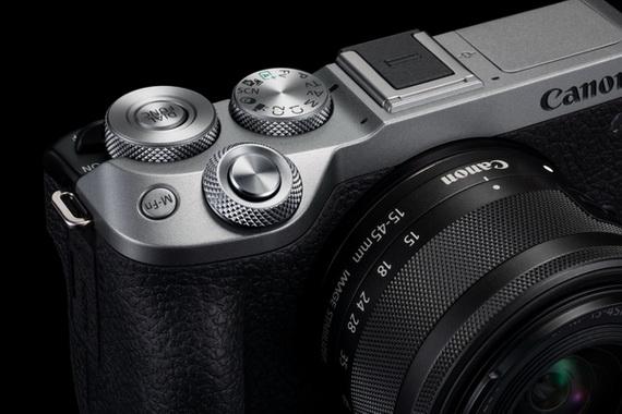 佳能全新EOS M6 Mark II 超高速4K輕巧無反相機 - 正式發售
