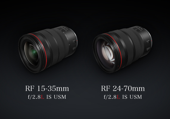 Canon RF 15-35mm f/2.8L IS USM and RF 24-70mm f/2.8L IS USM - Available For Sale