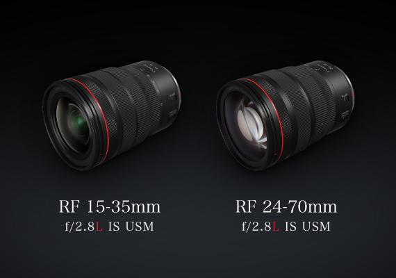 佳能全新RF 15-35mm f2.8L IS USM及RF 24-70mm f/2.8L IS USM - 正式發售