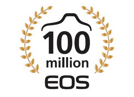 佳能慶祝EOS可換鏡頭相機系列突破一億生產量