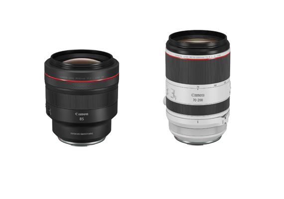 佳能推出兩款全新專業RF鏡頭 RF 70-200mm f/2.8L IS USM、RF 85mm f/1.2L USM DS及全新VLOG專用相機配件