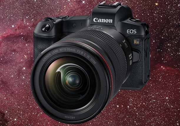 佳能全片幅數碼無反相機 EOS Ra (天文攝影專用) - 正式發售