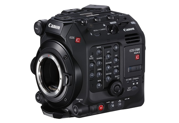 Canon Launches New EOS C500 Mark II Professional Interchangeable-Lens 5.9K full-frame camera