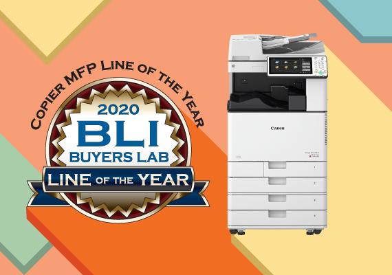 BLI 2020多功能打印機年度最佳產品線獎項