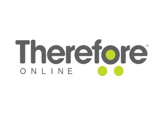 therefore online logo