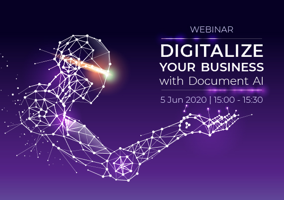 """Canon """"Digitalize Your Business with Document AI"""" Webinar"""