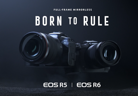 Canon Unveils the New EOS R5 and EOS R6 - the Full-frame Mirrorless Cameras and New RF Lenses