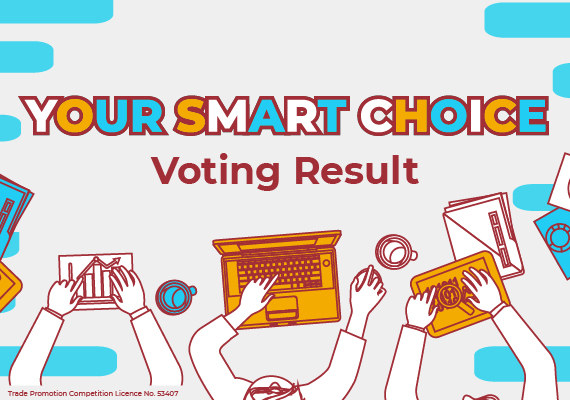"""Your Smart Choice"" Voting Campaign Result"