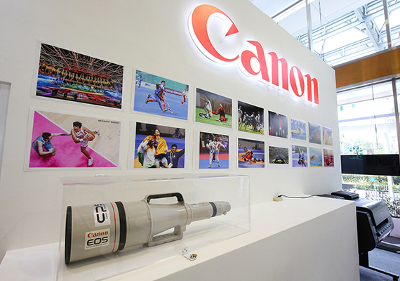 Canon Delivered On-site Support for Asian Games Photographers