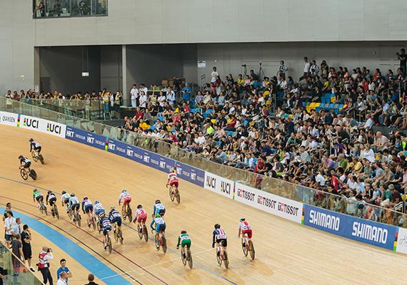 佳能香港支持場地單車世界錦標賽2017