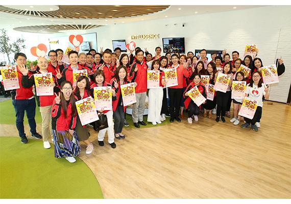 佳能香港連續第四年支持「地貧基因紅衣日」