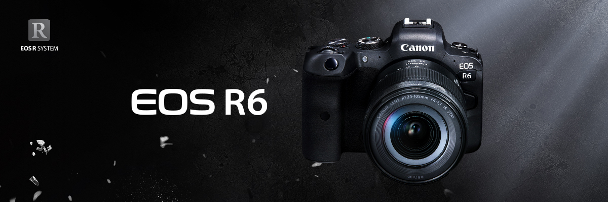 Canon EOS R6 - The High Sensitivity and High Speed 4K Full-Frame Mirrorless  Camera - Available for Sale - Canon HongKong