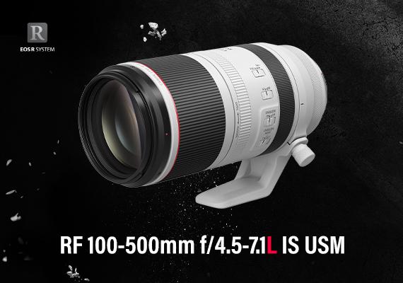 佳能全新RF 100-500mm f/4.5-7.1L IS USM - 高機動性專業超遠攝變焦鏡 - 正式發售