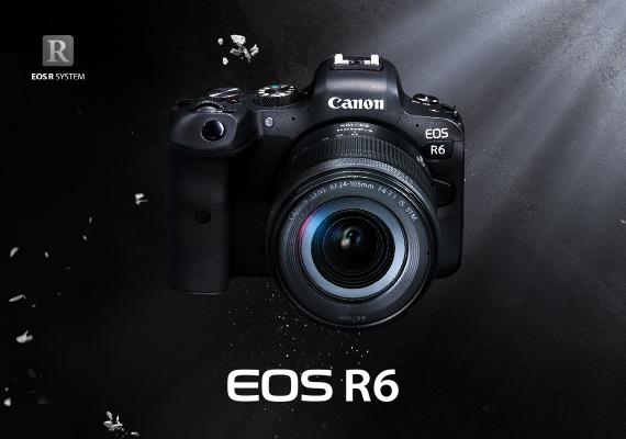 佳能全新EOS R6 - 高感光及高速4K全片幅無反相機 - 正式發售