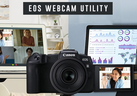 Canon Launches the EOS Webcam Utility