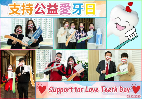 Support Love Teeth Day with Healthy Smile for the 11th Consecutive Year