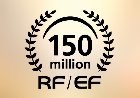 佳能慶祝RF及EF可換鏡頭突破一億五千萬生產量