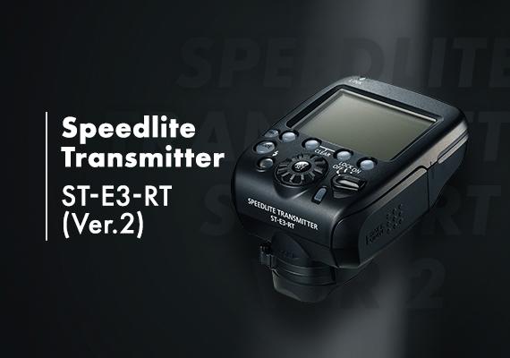 Canon Unveils New Speedlite Transmitter ST-E3-RT(Ver.2)