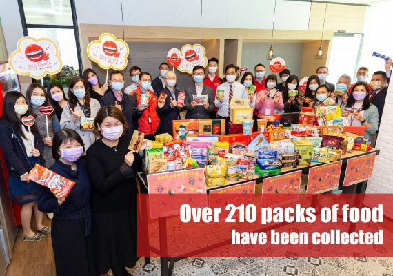 Canon Hong Kong enjoyed an eco-friendly Lunar New Year through Waste Reduction, Reuse and Sharing