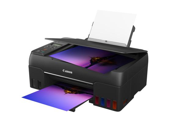佳能全新PIXMA G670 六色加墨式多合一相片打印機