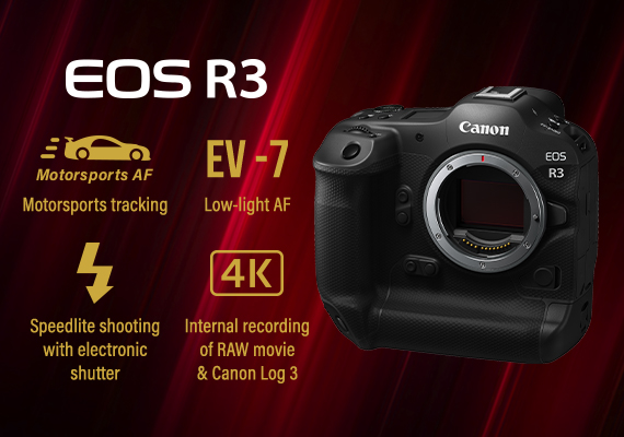 Announcement of Additional Specifications of the In-development EOS R3 Full-frame Mirrorless Camera