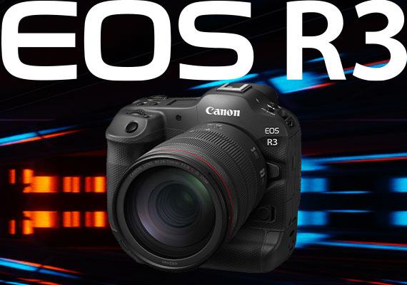 佳能 EOS R3全新全片幅無反相機隆重推出 重新定義速度及性能  擴闊攝影可能性